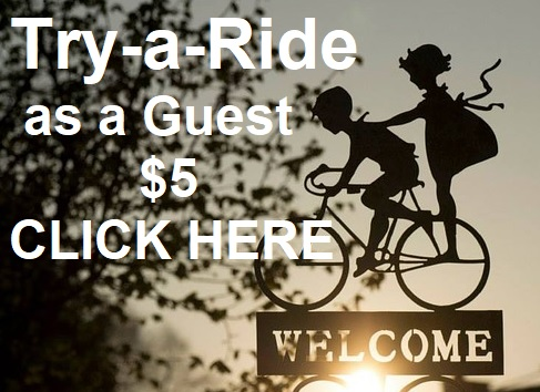 Online registration for the ride of your choice